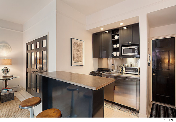 kitchen of Nate Berkus Manhattan apartment