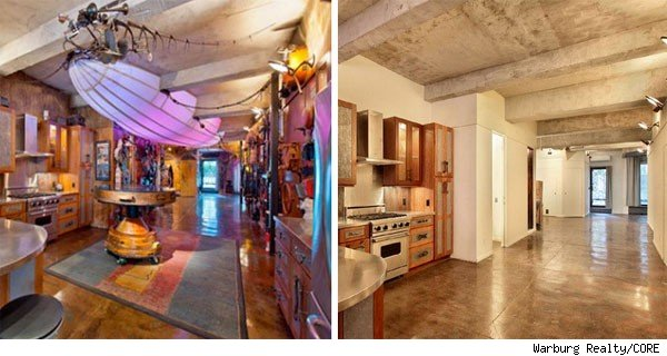 Steampunk loft, New York City