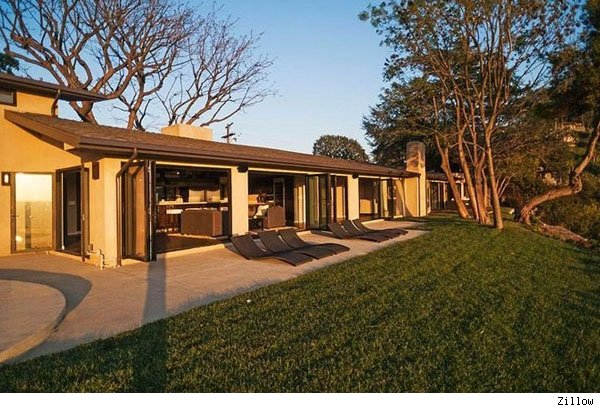 Chris Evans' Laurel Canyon home