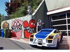Chris Brown's Curbside Art Angers Los Angeles Neighbors