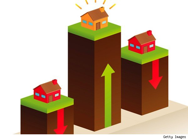 rising home prices graphic