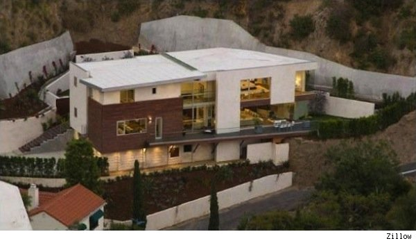 Hollywood Hills home of Hugh Hefner, Crystal Harris