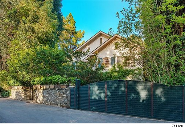 Jessica Simpson home, Beverly Hills