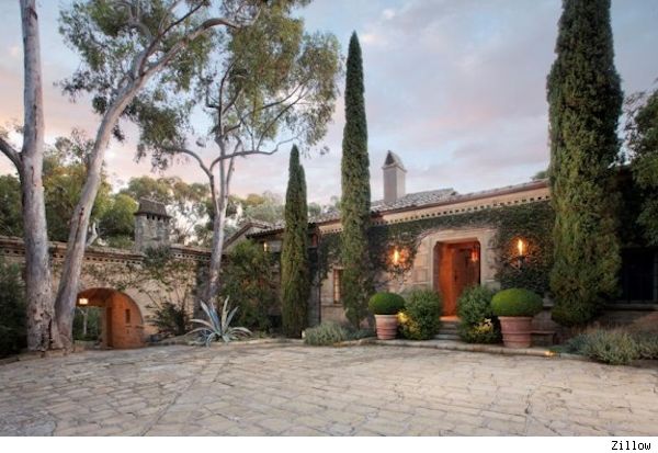 Ellen DeGeneres mansion in Montecito, California