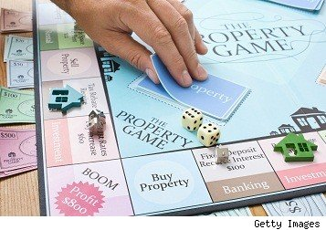 gameboard for a real estate game