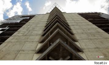 tower of david worlds tallest slum