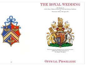Royal Wedding Program Reveals Ceremony Details