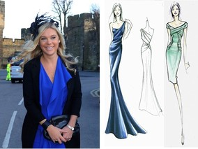 Chelsy Davy to Wear Two Royal Wedding Dresses by Alberta Ferrerti