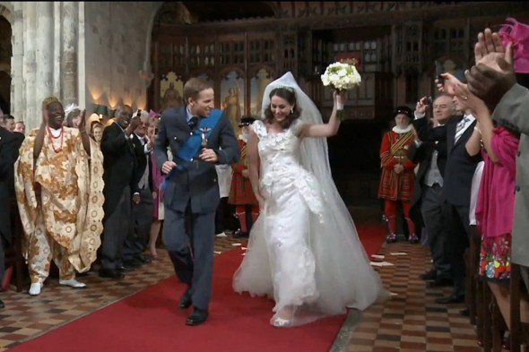 In Honor Of The Upcoming Nuptials T Mobile Has Released This Dance Video Featuring A Cast Uncanny Lookalikes Shimmying Down Aisle Westminster