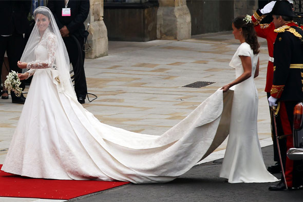 Kate Middleton royal wedding dress sarah burton