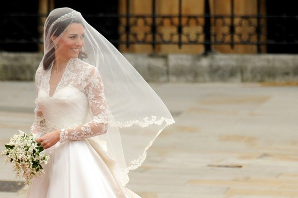 Kate Middleton Wedding Dress by Sarah Burton of Alexander McQueen