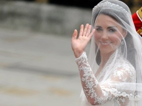 Kate Middleton's Royal Wedding Look [PHOTOS]