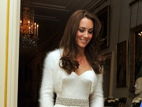 Kate Middleton's Second Royal Wedding Dress for Reception