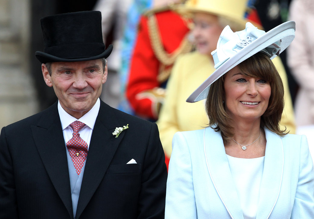Bride's Parents: Michael and Carole Middleton