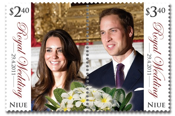 royal wedding stamp