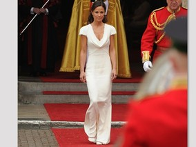 Pippa Middleton's Royal Wedding Dress by Sarah Burton of Alexander McQueen