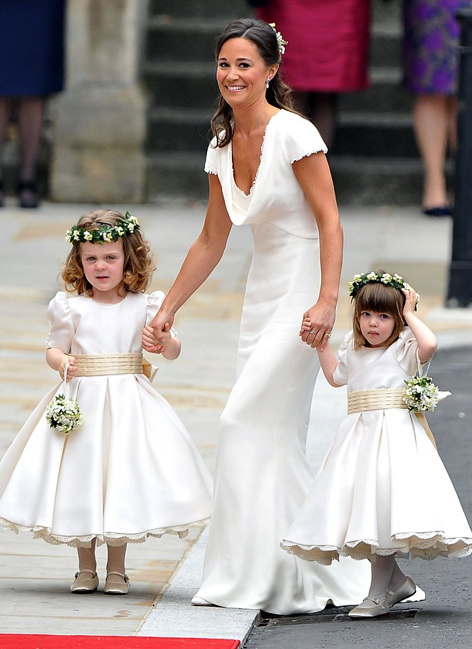 Maid of Honor Pippa Middleton and the Bridemaids