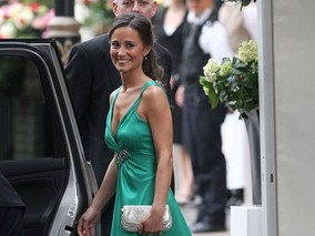 Pippa Middleton's Glamorous Green Royal Wedding Reception Dress