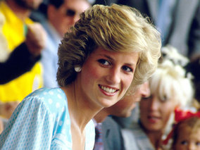 Prince William and Kate Middleton Pay Emotional Visit to Princess Diana's Grave