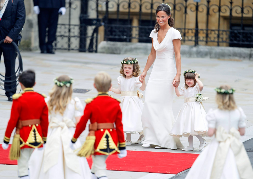 Maid of Honor Pippa Middleton, Bridesmaids & Page Boys