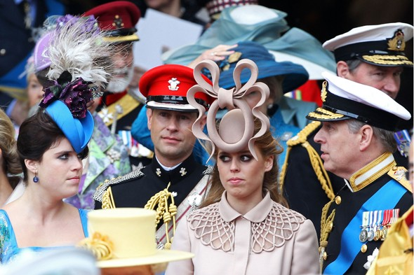 princess beatrice wedding hat