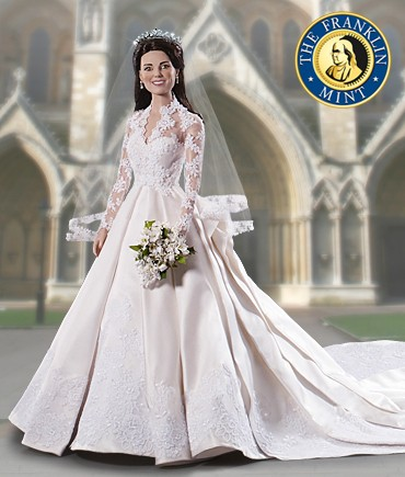 kate middleton royal wedding doll