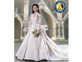 The Kate Middleton Royal Wedding Doll Is Here!