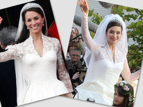 Did Kate Middleton Copy This European Royal's Wedding Dress?