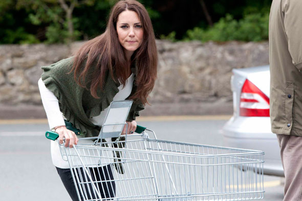 kate middleton grocery shopping