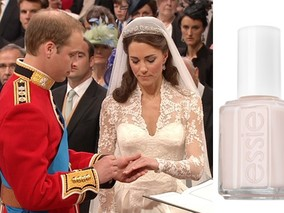 Get Kate Middleton's Pretty Pink Nail Color