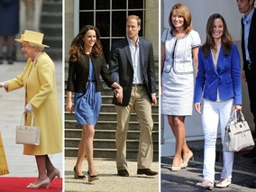 Kate, Pippa and Yes Even the Queen Spark Fashion Frenzy