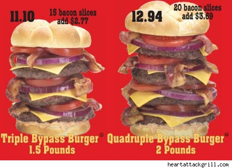 restaurante Heart Attack Grill