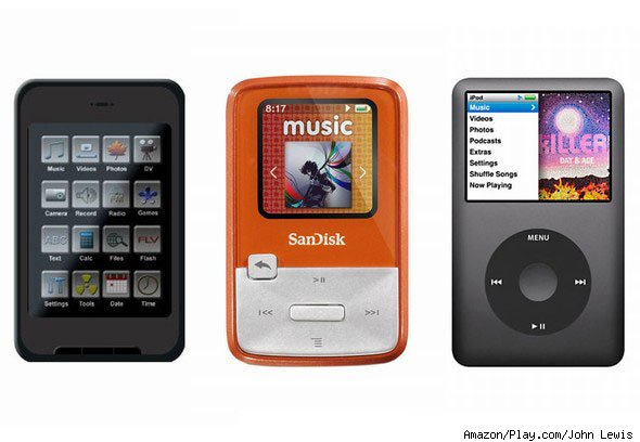 consumer reports best mp3 players