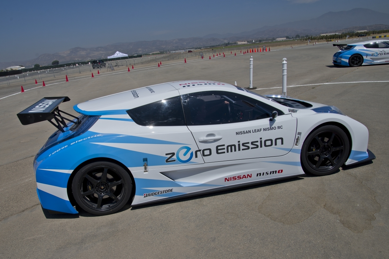 nissan leaf nismo rc concept first drive photo gallery. Black Bedroom Furniture Sets. Home Design Ideas