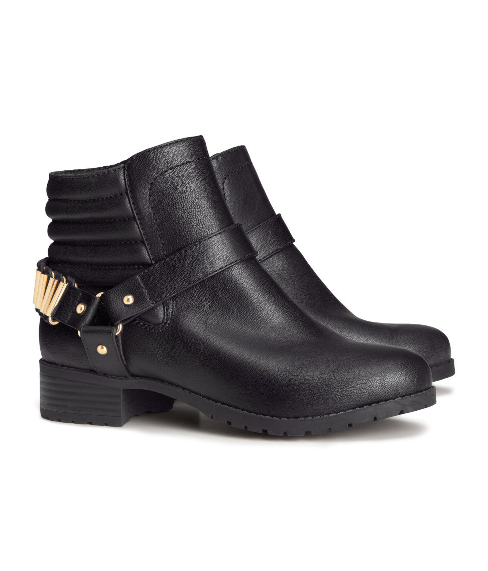 autumn winter ankle boots from h m mydaily uk