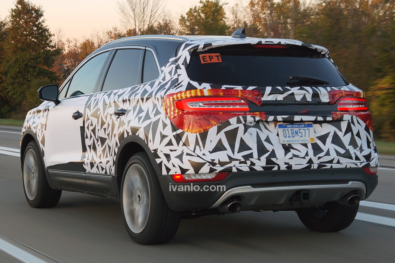 2018 lincoln mkc spy shots. modren lincoln i wonder if the white lights that are at bottom of mkc  reverse lights hope not too big imho intended 2018 lincoln mkc spy shots