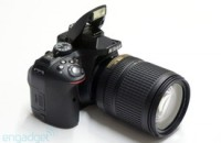Nikon D5300 is the company's first DSLR with built-in WiFi, ships this month for $800 (hands-on)