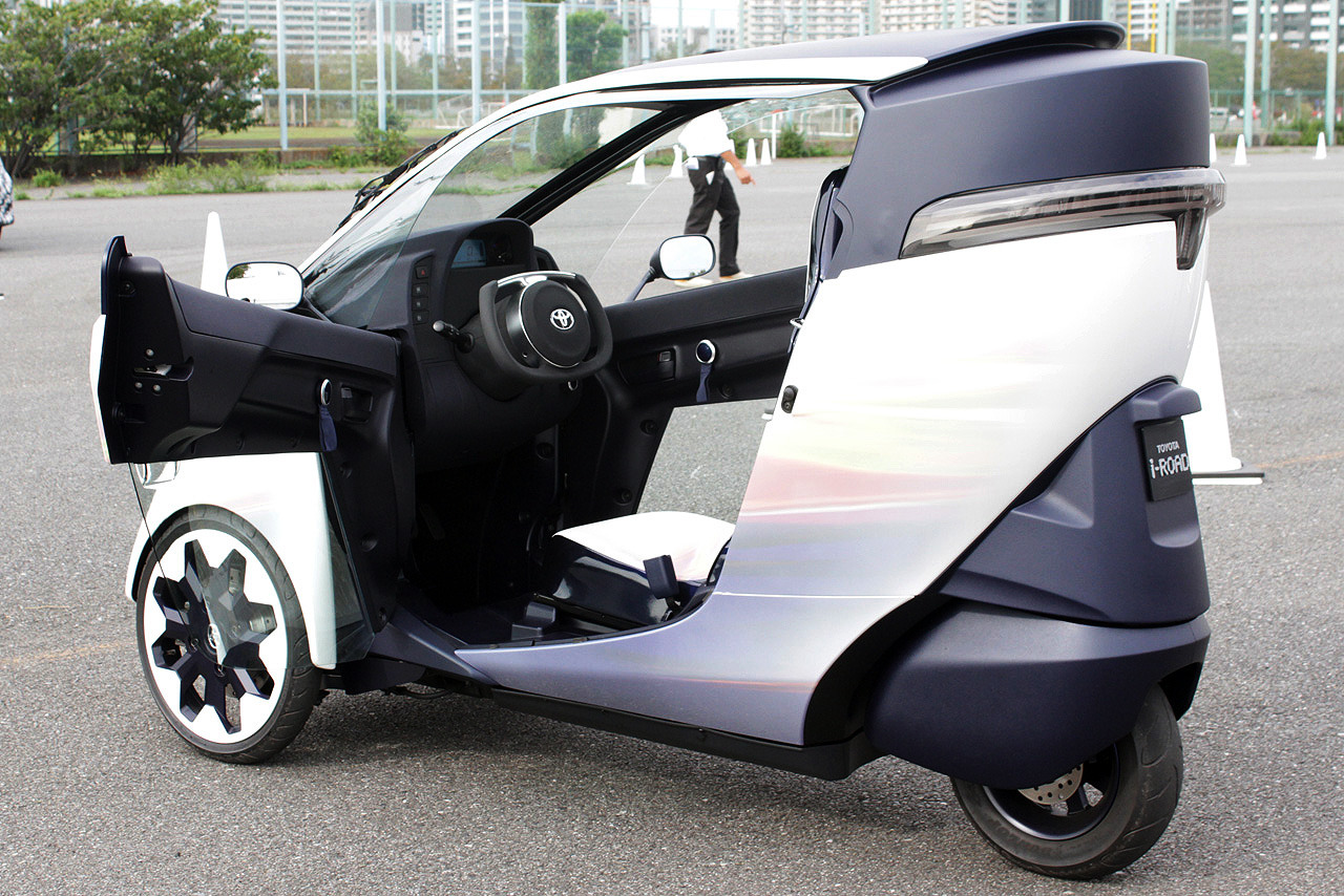 Toyota I Road Concept Revives The Three Wheel Microcar