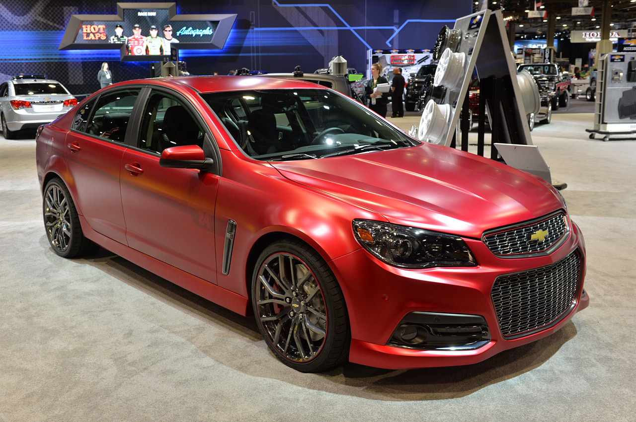Chevrolet Jeff Gordon SS Performance Sedan Concept: SEMA 2013 Photo ...