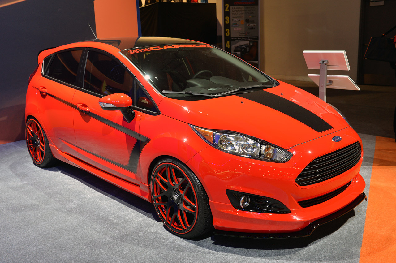 ford fiesta st customs sema 2013 photo gallery autoblog. Black Bedroom Furniture Sets. Home Design Ideas