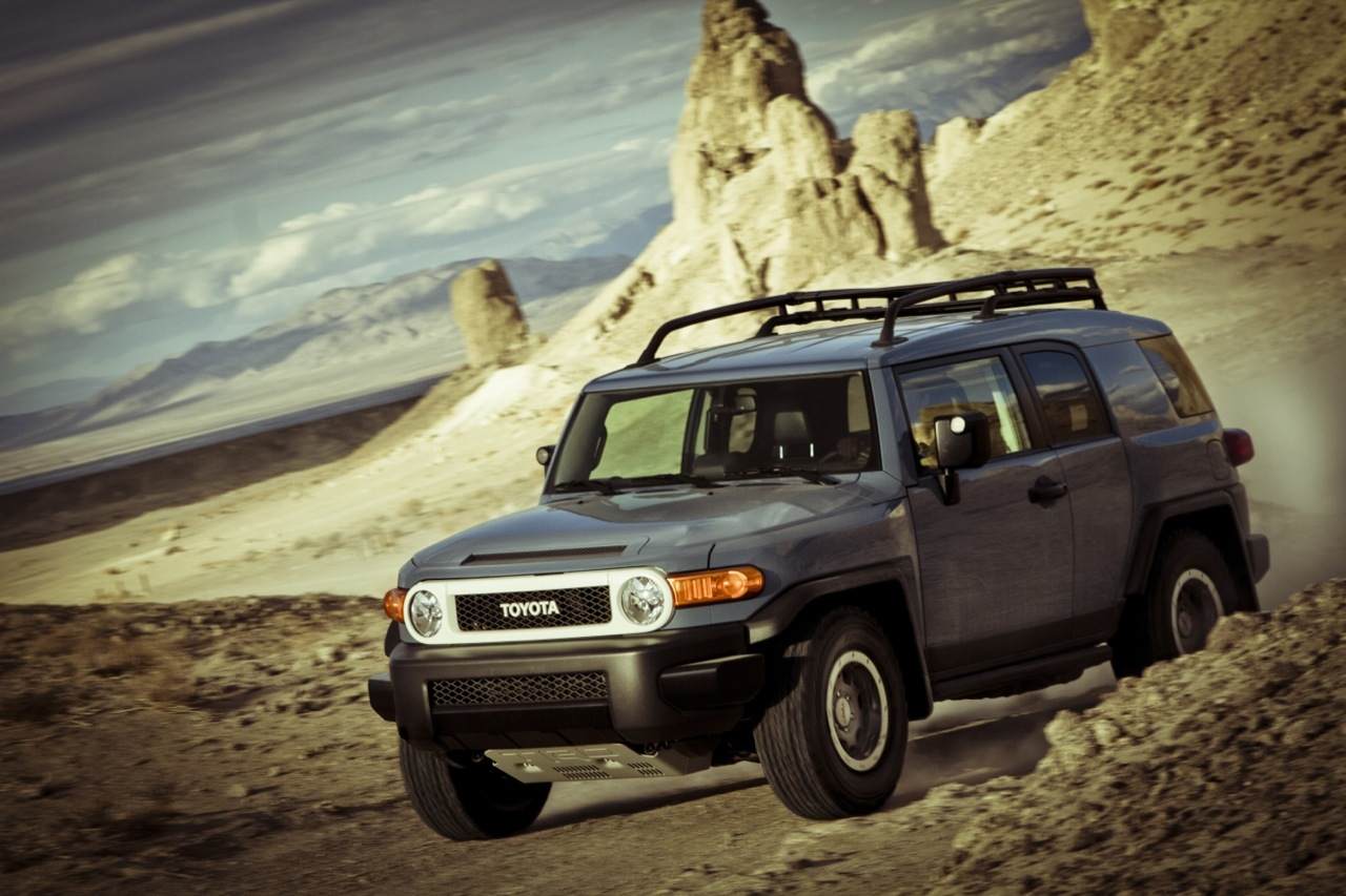 Toyota may have an offroad FJinspired concept on the way  Autoblog