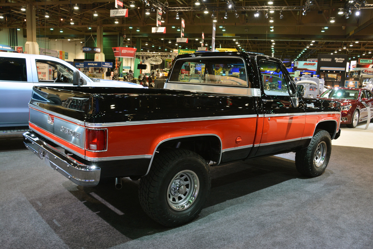 1978 chevrolet performance classic truck concept sema 2013 photo gallery a. Cars Review. Best American Auto & Cars Review