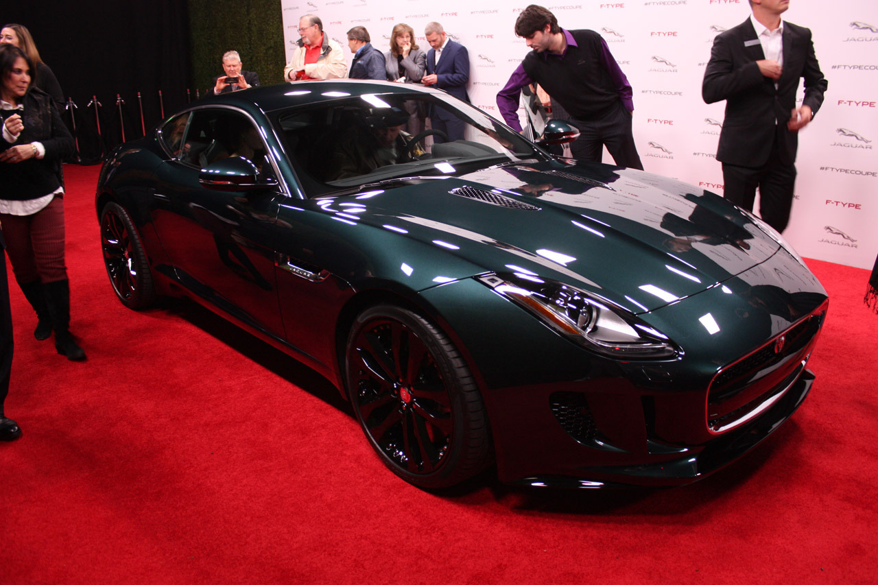 Jaguar f type coupe green - photo#20