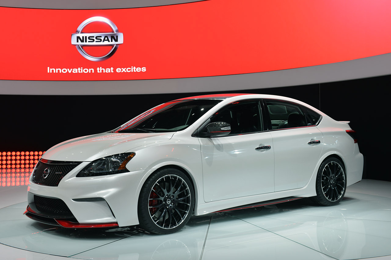 nissan sentra nismo concept la 2013 photo gallery autoblog. Black Bedroom Furniture Sets. Home Design Ideas