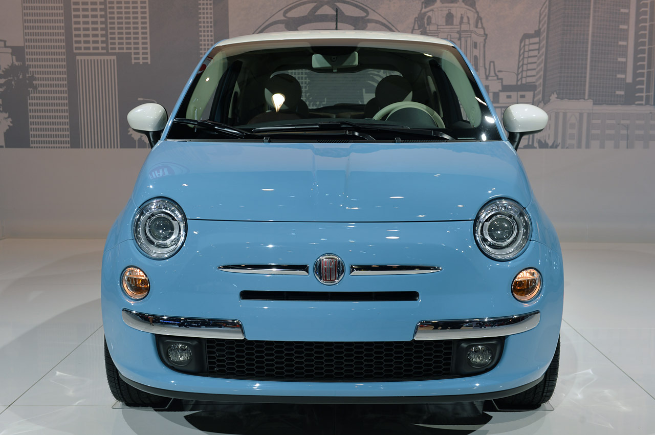 2014 fiat 500 1957 edition la 2013 photo gallery autoblog. Black Bedroom Furniture Sets. Home Design Ideas