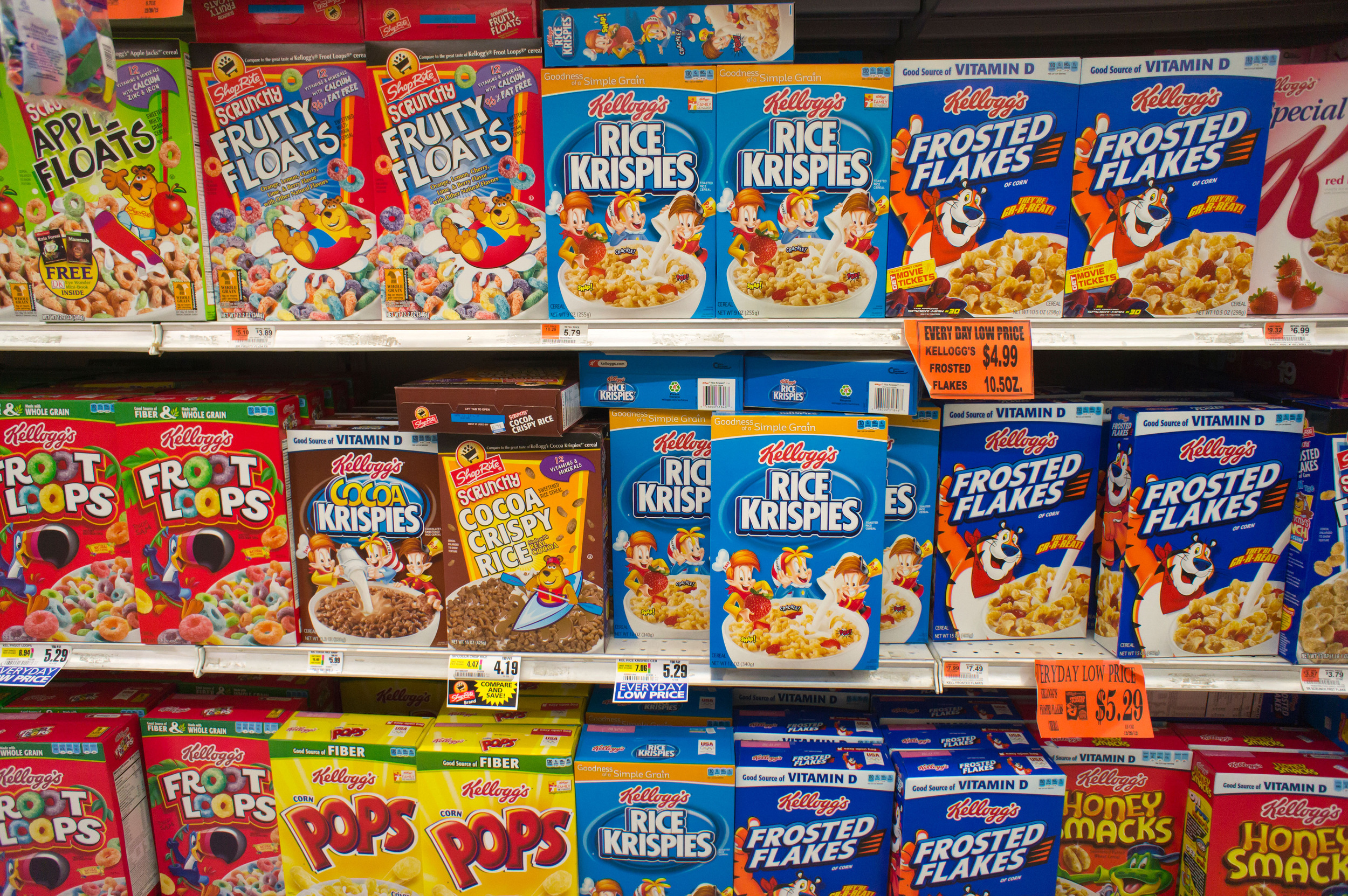 an analysis of different types of cereals in american breakfast foods Kellogg's swot analysis  for different types of equipment and plants  coupon)  kellogg  american heart association.