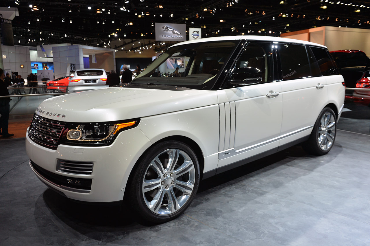 Range Rover Autobiography 2013 Price >> 2014 Land Rover Range Rover Autobiography Black: LA 2013 Photo Gallery - Autoblog