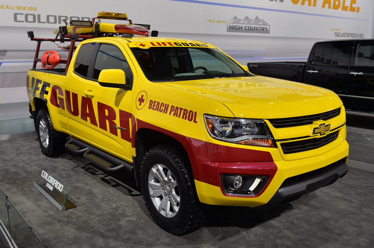 West coast beaches inspired this 2015 Chevrolet Colorado ...