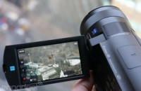 Sony's compact FDR-AX100 4K Handycam ships in March for $2,000 (hands-on)