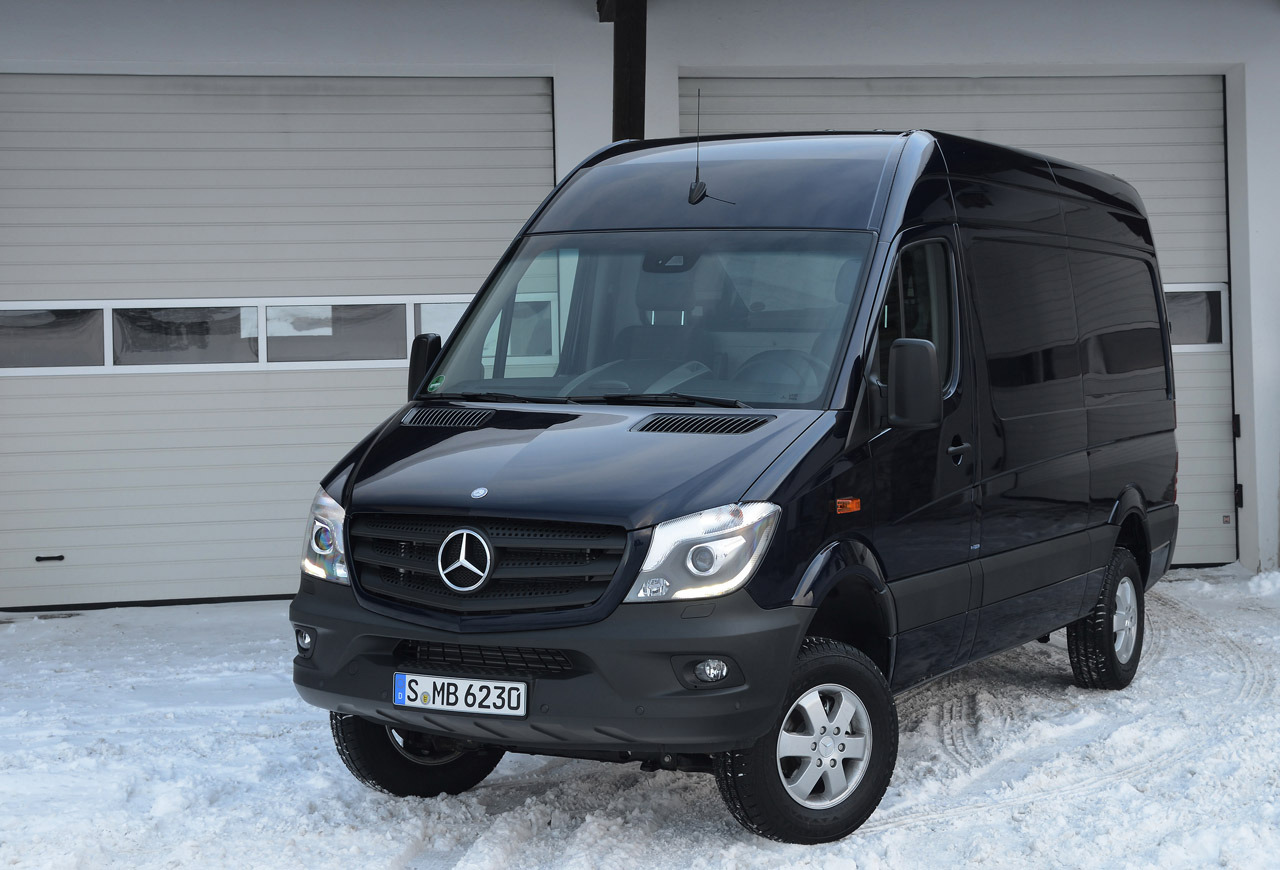 2014 mercedes benz sprinter 4x4 photo gallery autoblog. Black Bedroom Furniture Sets. Home Design Ideas